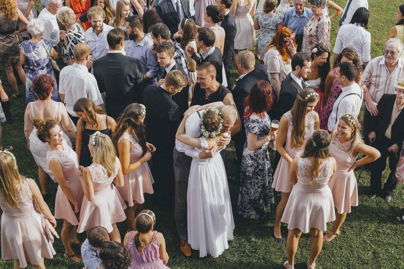 Intimate Wedding Moment