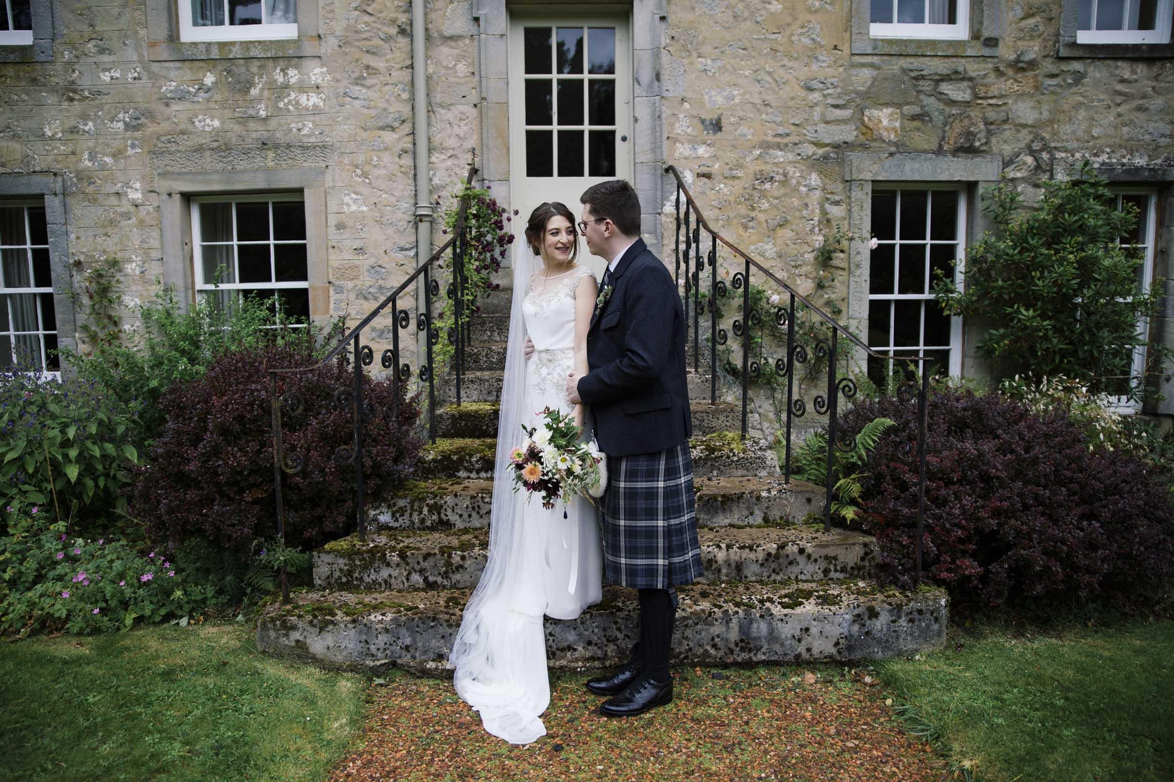 Scottish Wedding at Kirknewton Stables by Alternative Edinburgh Wedding Photographer - Ceranna Photography