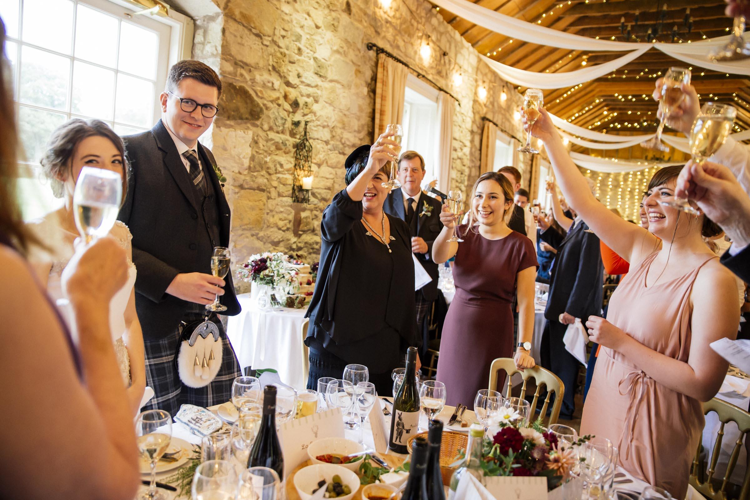 aScottish Wedding at Kirknewton Stables by Alternative Edinburgh Wedding Photographer - Ceranna Photography