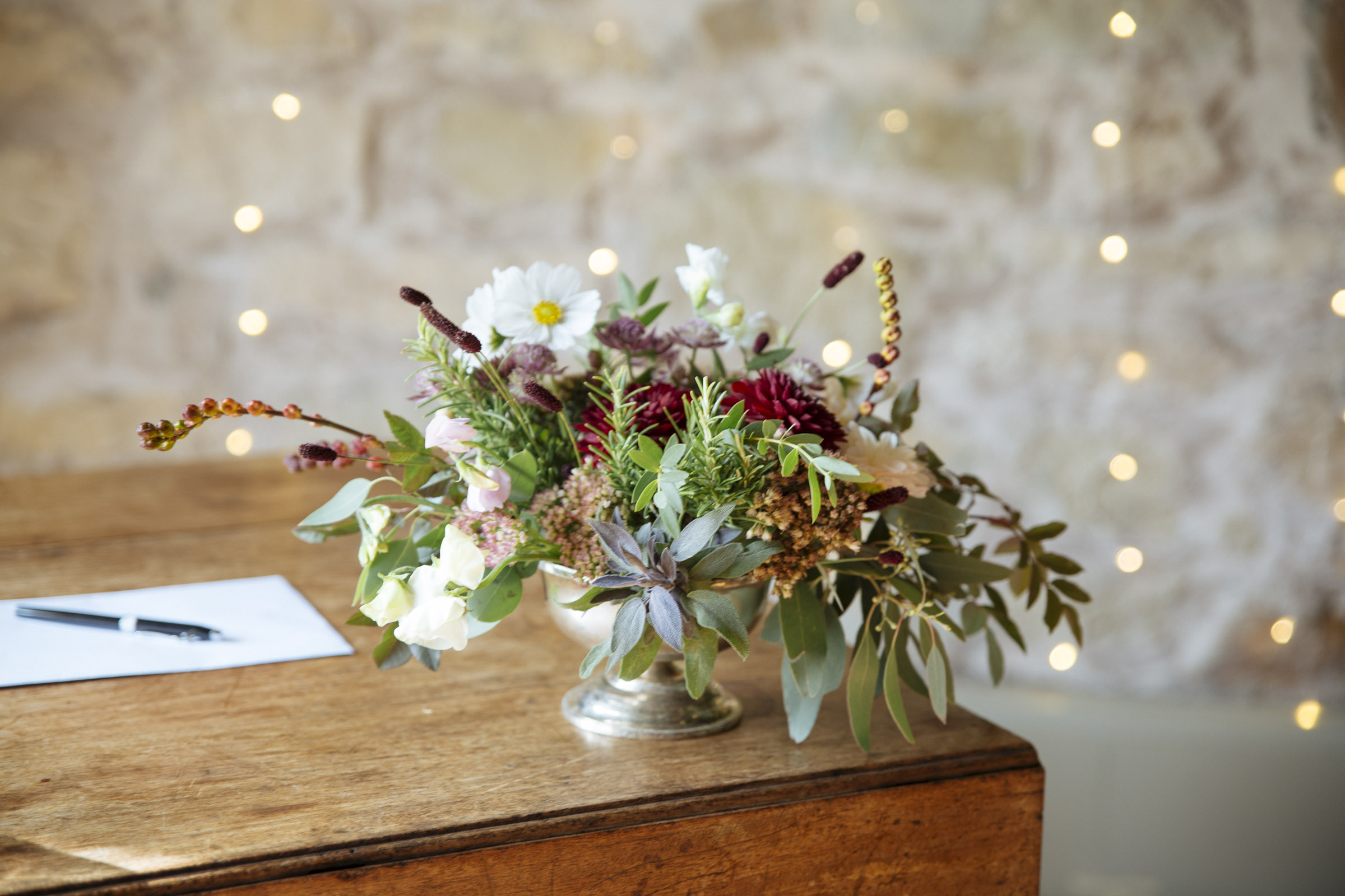 Hedgerow Florist | Scottish Wedding at Kirknewton Stables by Ceranna Edinburgh Wedding Photographer