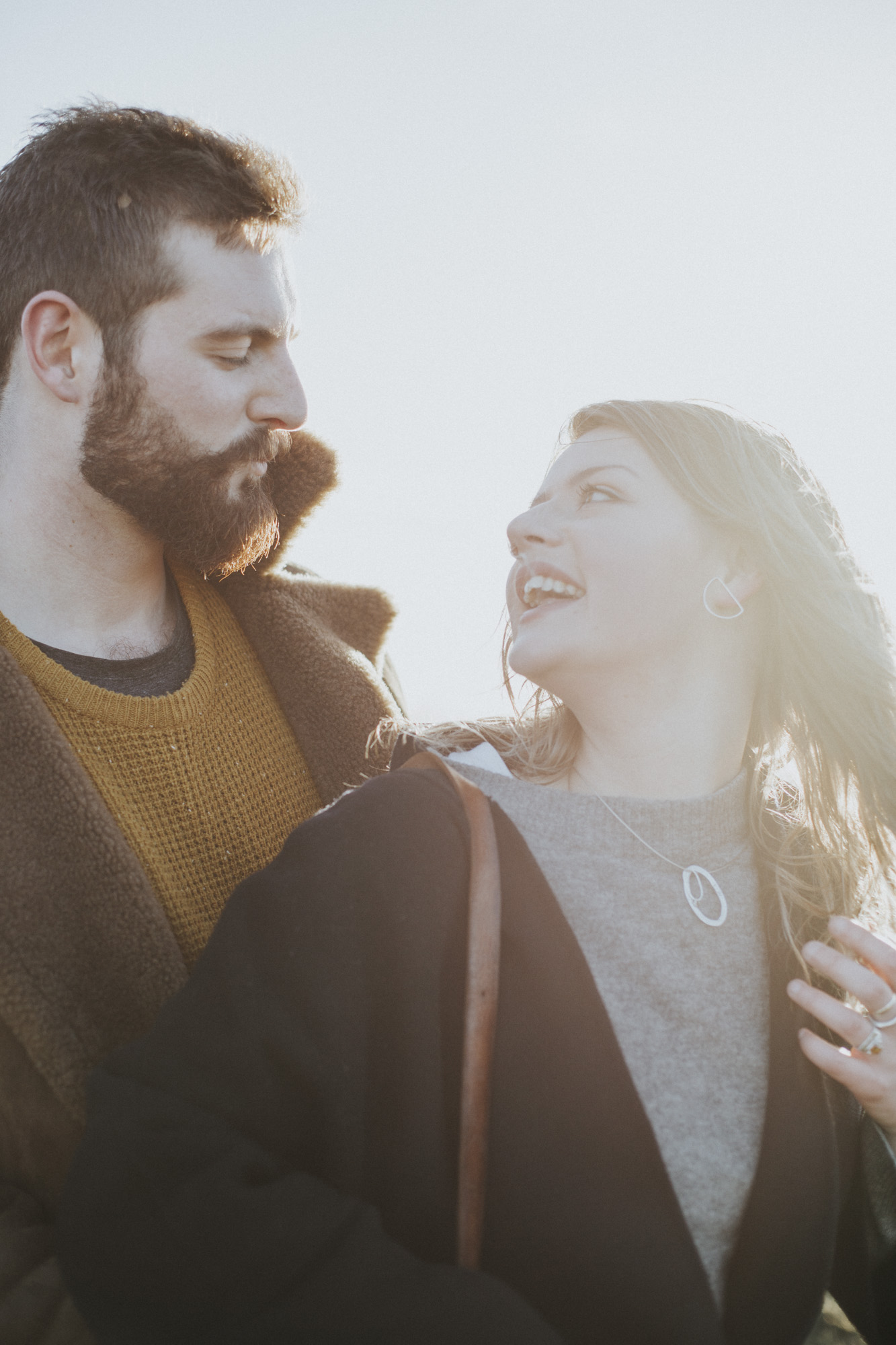 Edinburgh Couple Photoshoot in Holyrood Park by Ceranna Photography | Edinburgh Wedding and Elopement Photographer | Scottish nature