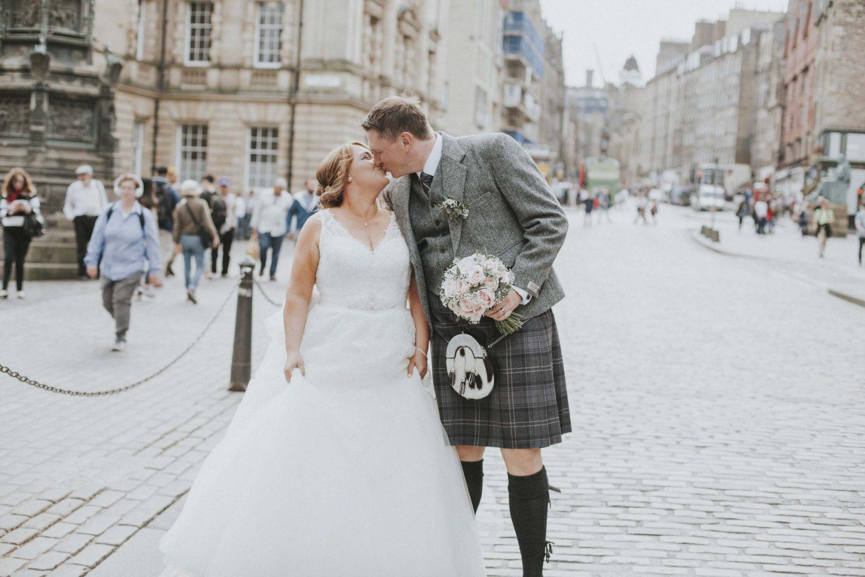 Royal Mile Scottish Wedding - Edinburgh Wedding Photography
