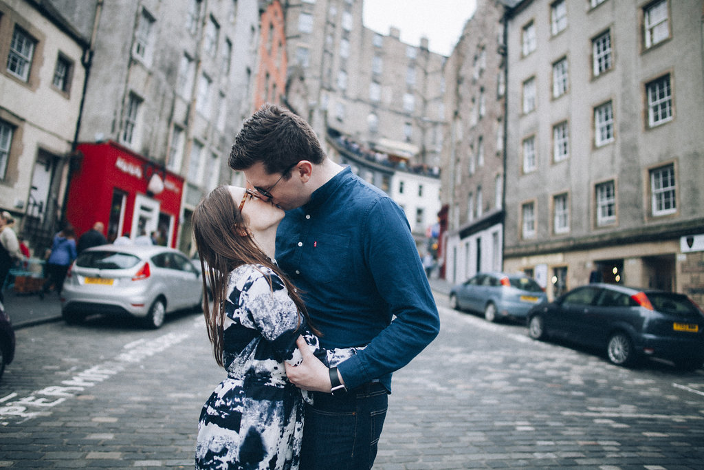 Edinburgh Engagement on Royal Mile
