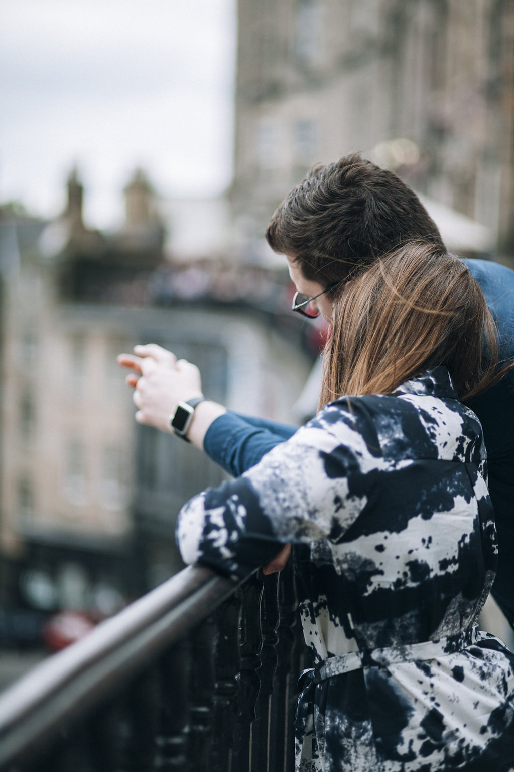 Edinburgh Engagement Photographer