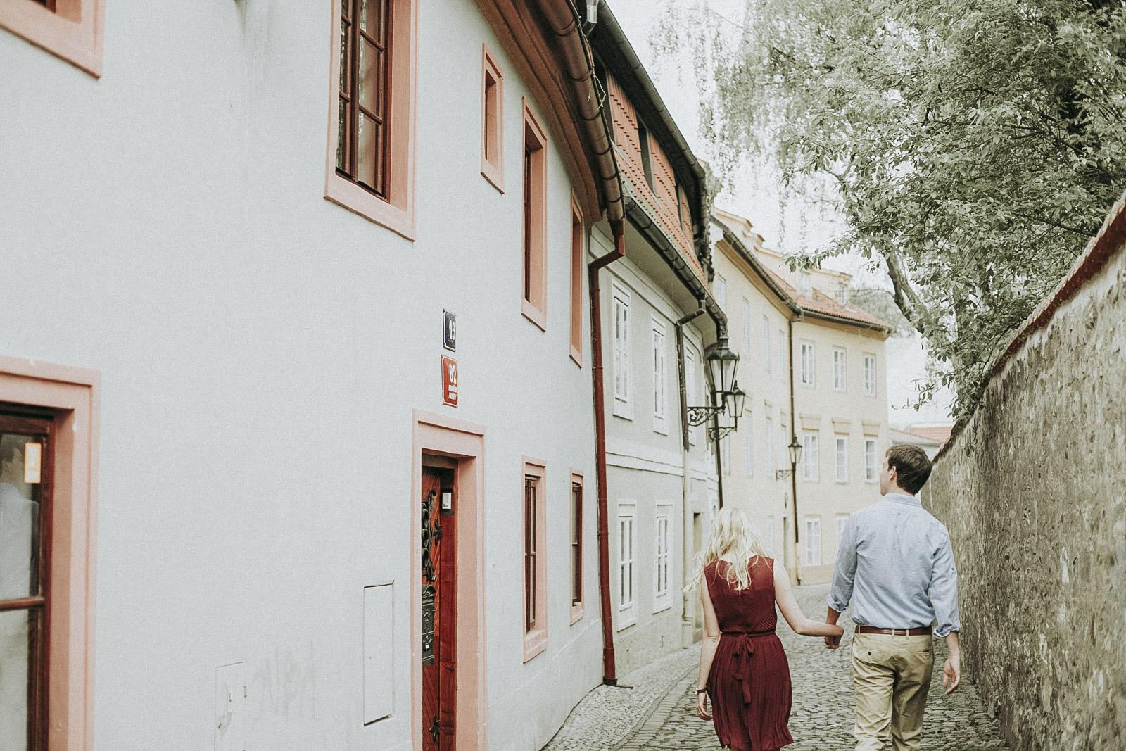 Prague Engagement Photoshoot