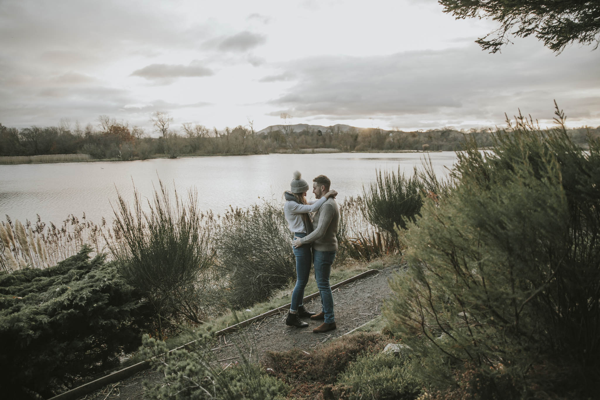 Edinburgh Suprise Proposal at Dr Neils Garden