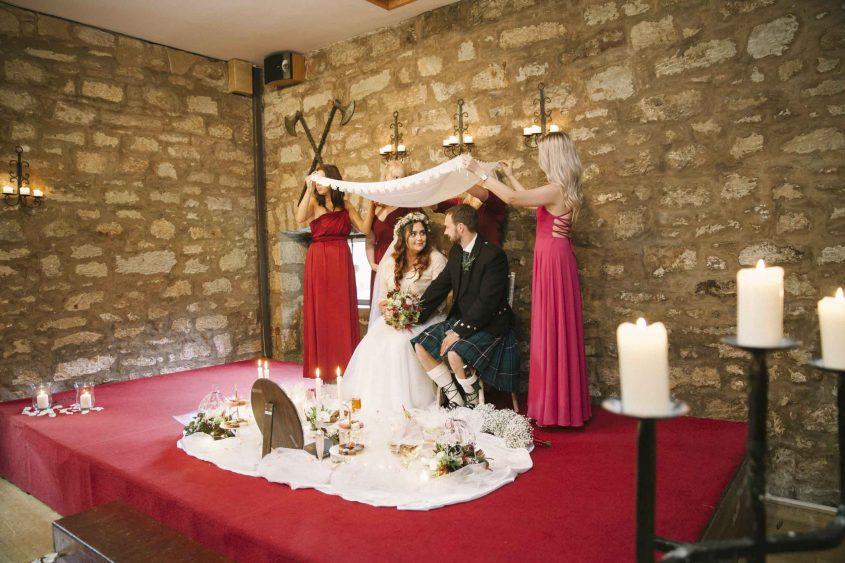 Persian Wedding at Scottish Castle
