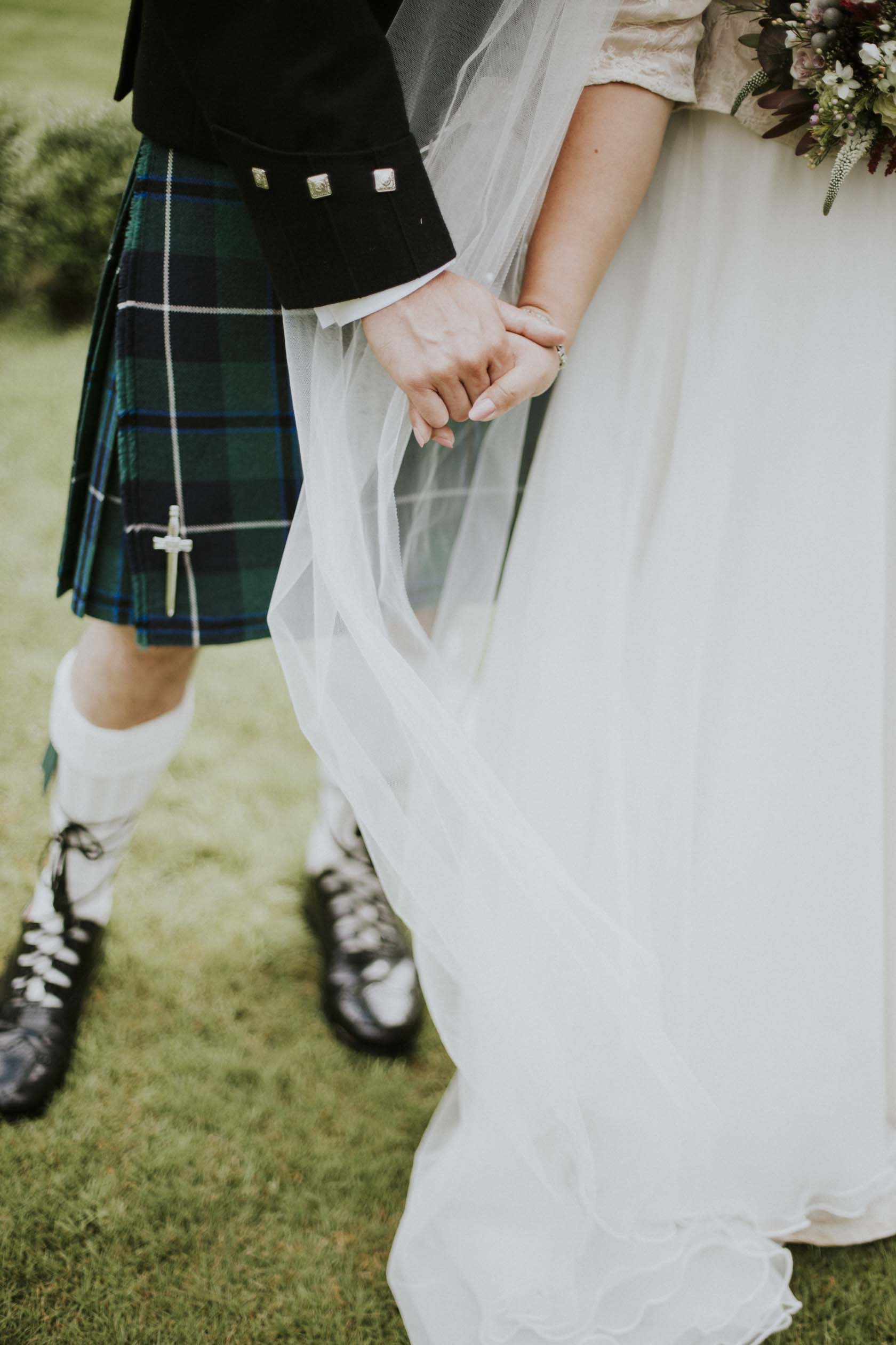 Culcreuch Castle Wedding Photography | Scottish Wedding Photographer | Ceranna Photography | Alternative Photographs | Scottish Elopement | International Couple