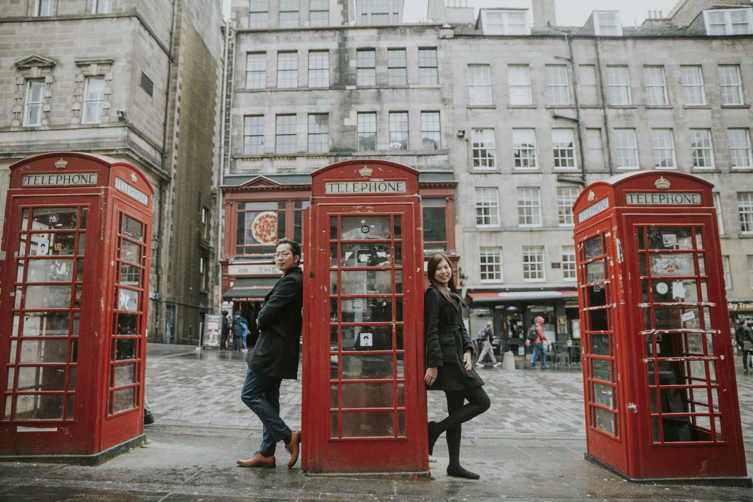 Edinburgh Royal Mile Engagement Photography | Edinburgh Secret Proposal Photographer | Scottish Couple Photography