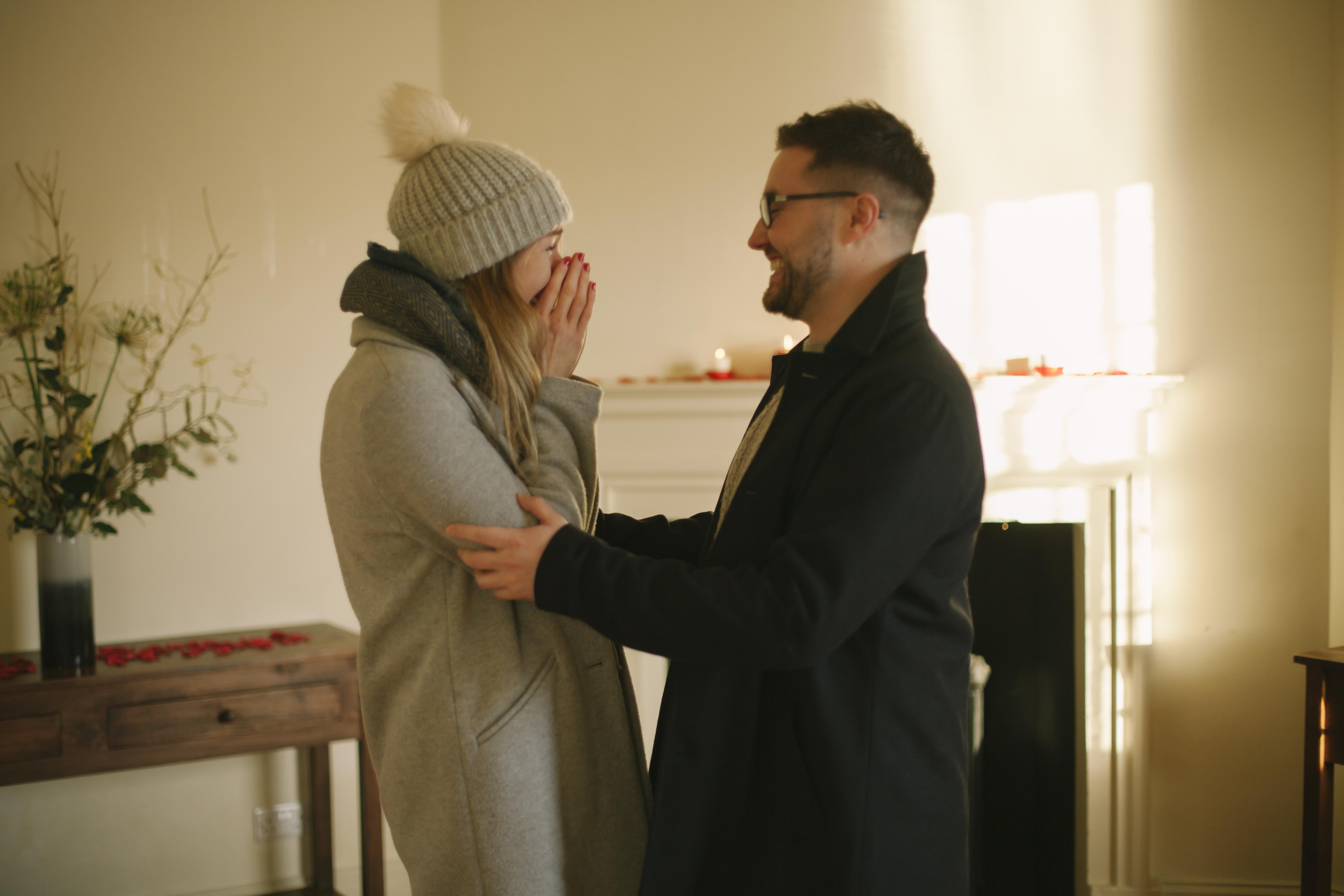 Edinburgh Surprise Wedding Proposal | Secret Engagement Photography | Scottish Wedding Photographer