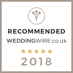 Recommended by Wedding Wire