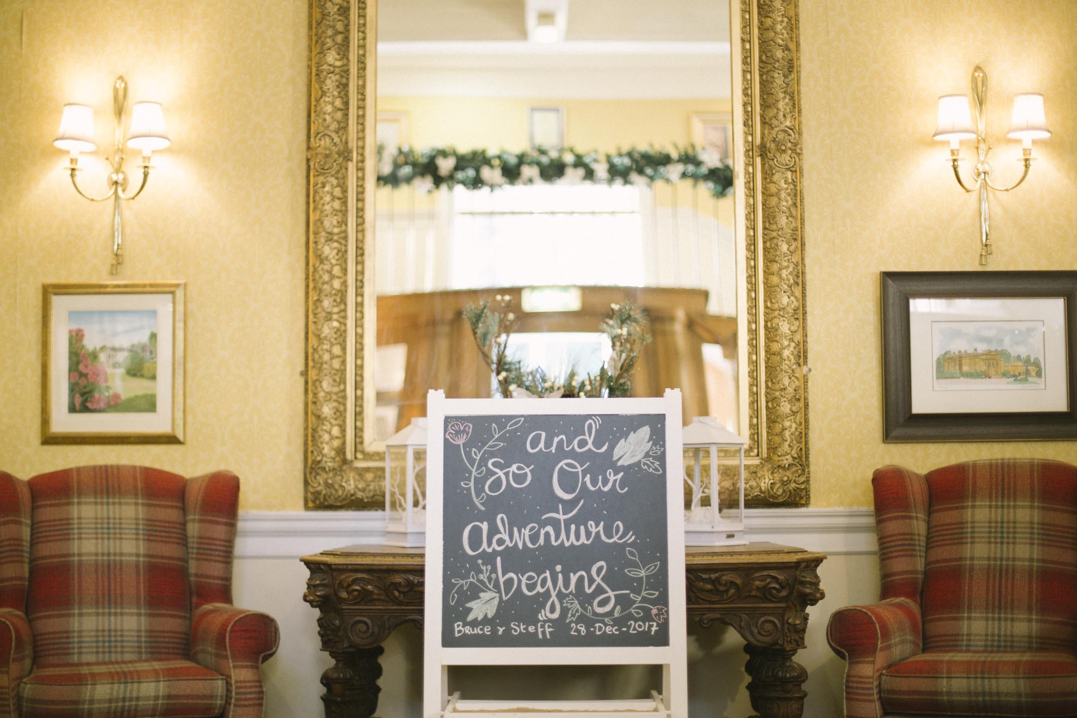 Balbirnie House Wedding Photography | Scottish Winter Wedding