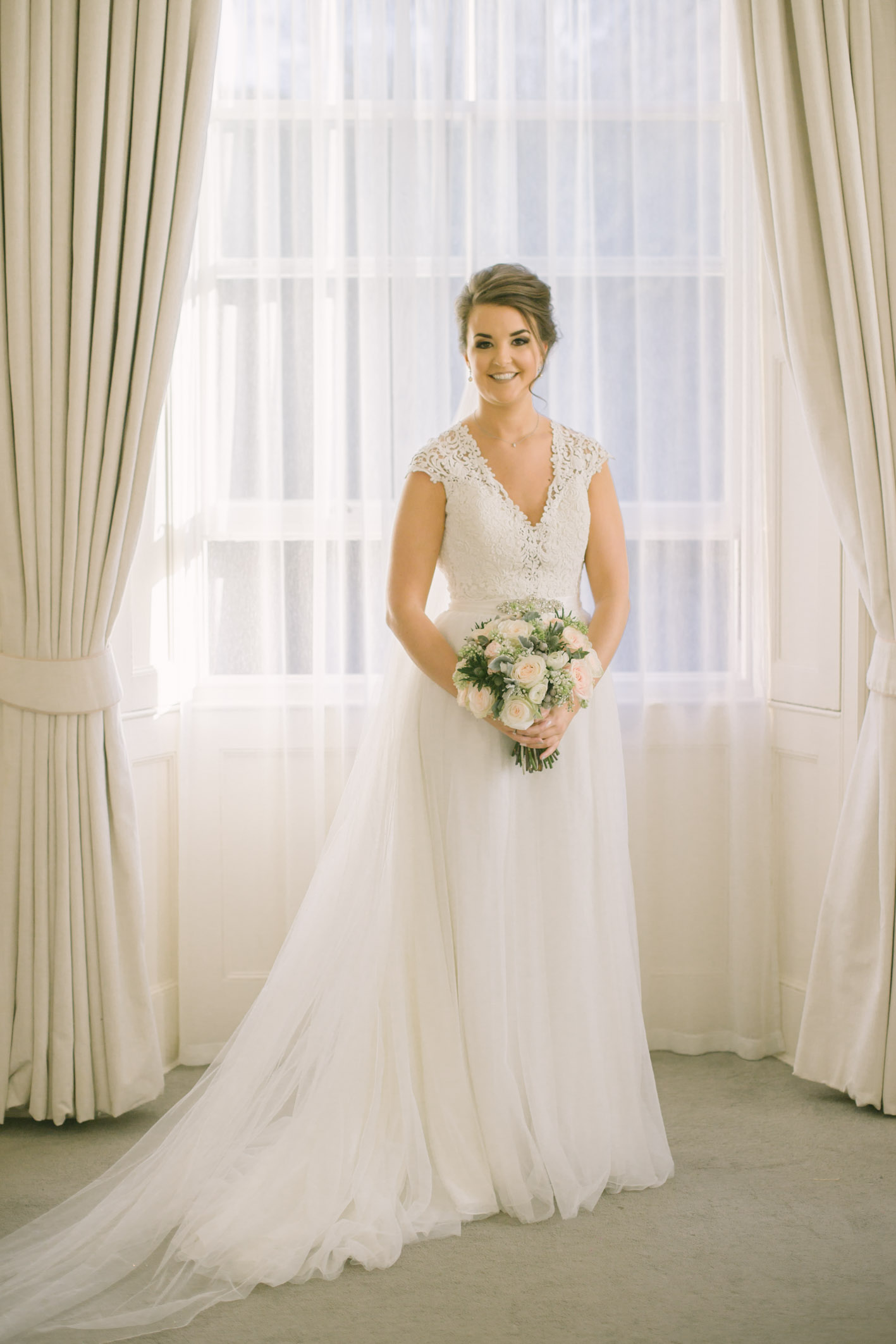 Bridal Portraits at Balbirnie House Wedding | Photography by Ceranna | Fife Wedding Photographer