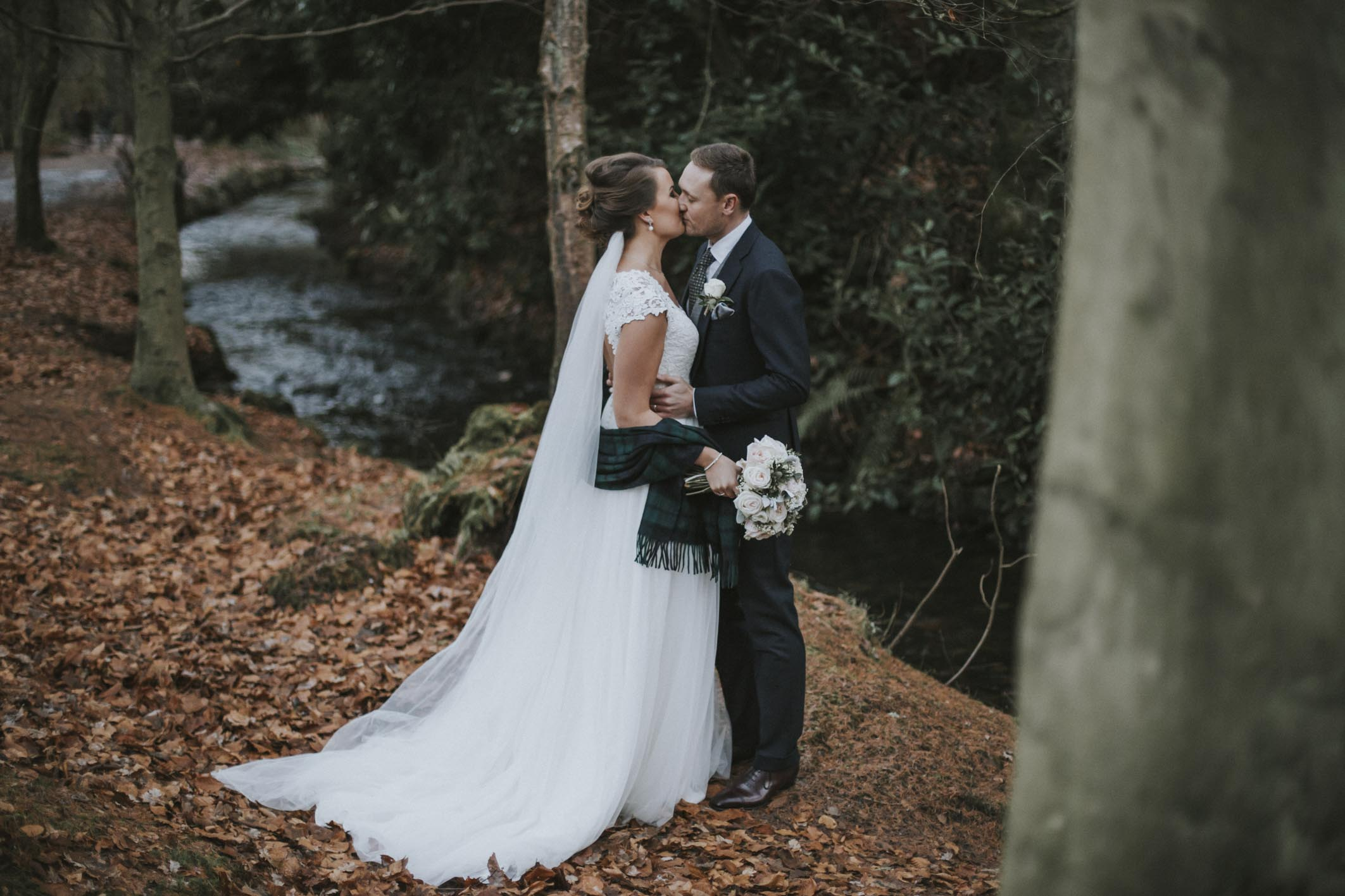 Elegant Winter Balbirnie House Wedding by Ceranna Photography