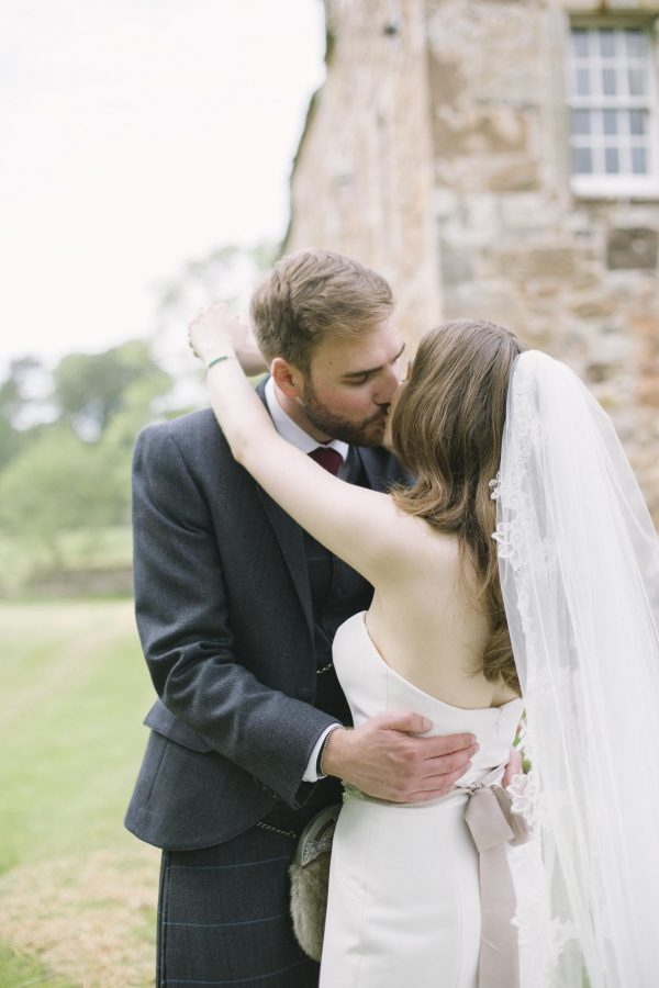 Newly Wed Portrait Shoot at Rowallan Castle Wedding | Lorna & David | by Ceranna Photography