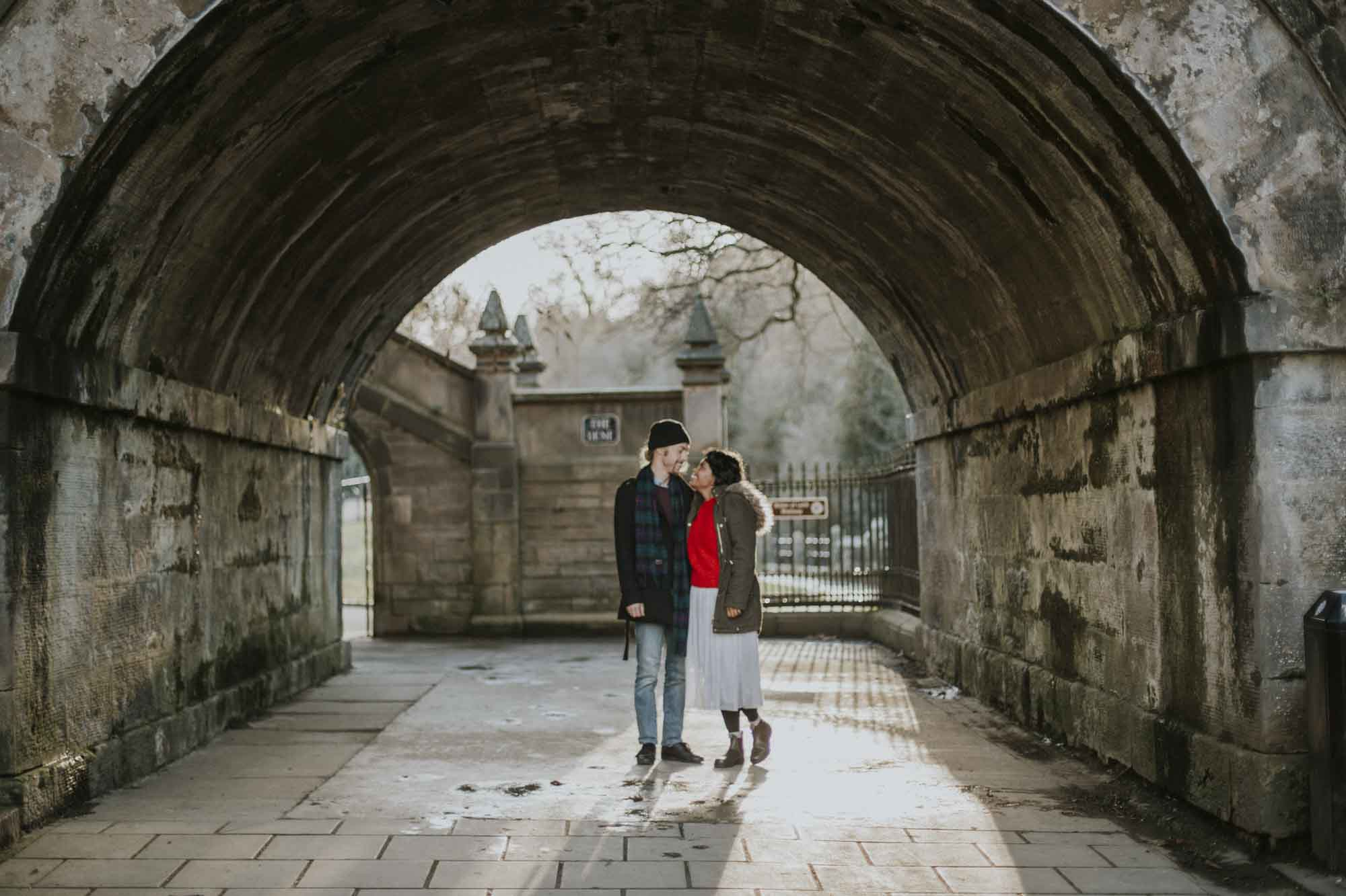 Edinburgh Couple Shoot
