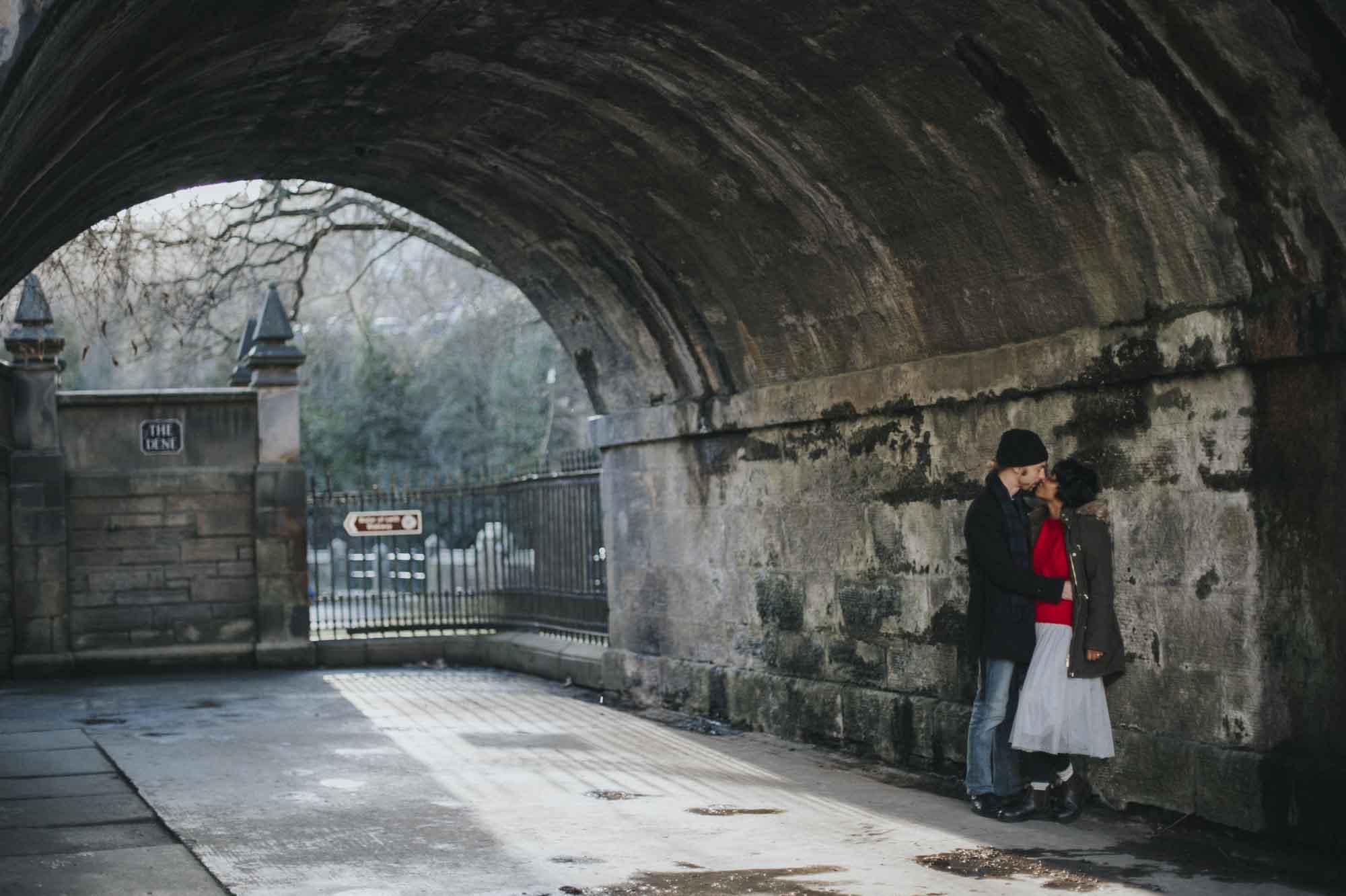 Edinburgh Destination Elopement Photoshoot