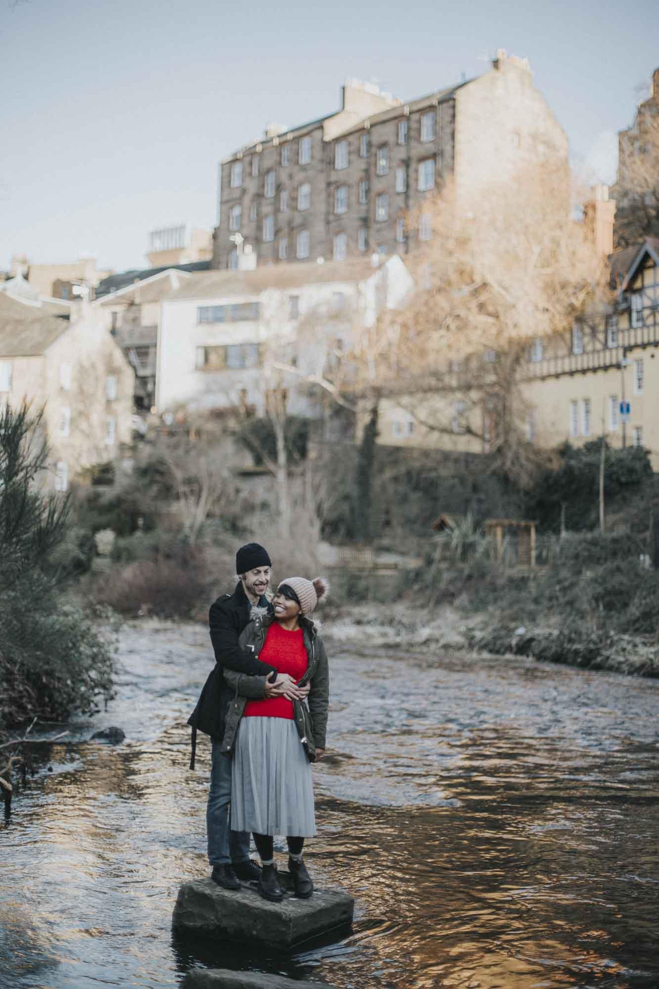 Edinburgh Destination Elopement Photography