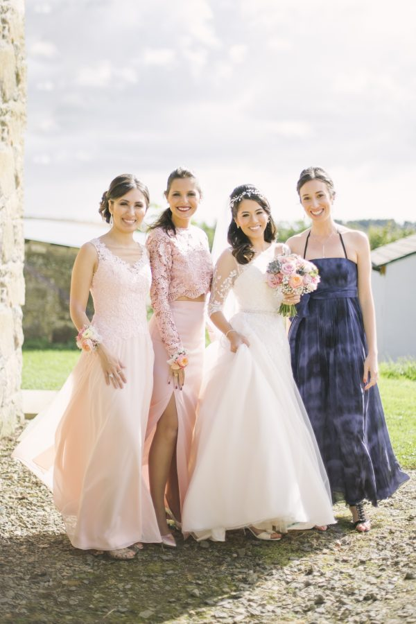Bridesmaids | Aberdeenshire wedding photography