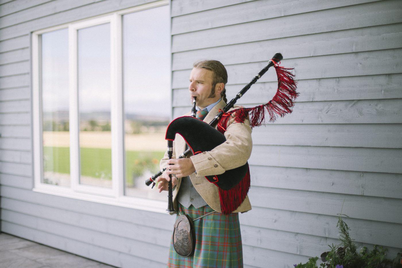Bridesmaids   Aberdeenshire wedding photography   barn at barra castle