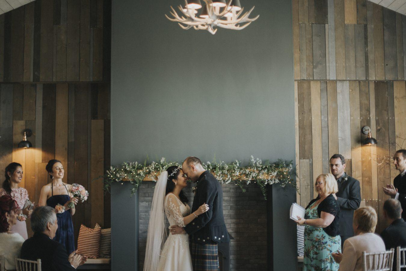Barn at Barra Castle Wedding | Scottish Rustic Wedding Venue | Aberdeenshire Wedding Photographer | Fine Art Photography by Ceranna Photo