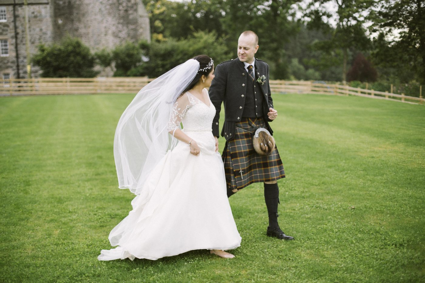 Barn at Barra Castle Wedding Photography by Ceranna Photo | Edinburgh Fine Art Wedding Photographer