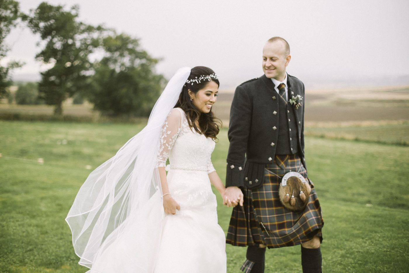 Barn at Barra Wedding Portraits | Aberdeenshire Wedding Photographer