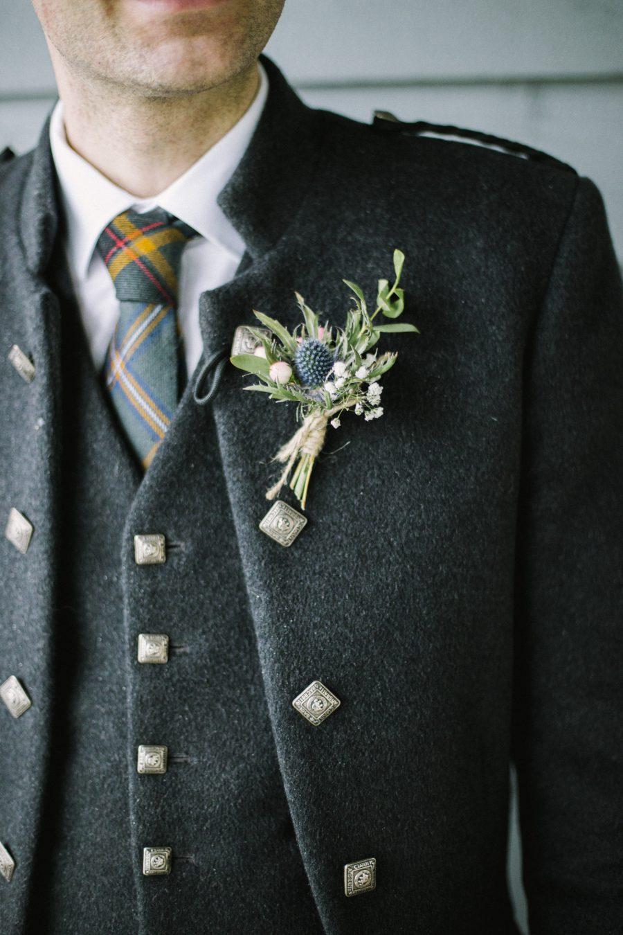 Barn at Barra Wedding Portraits   Aberdeenshire Wedding Photographer
