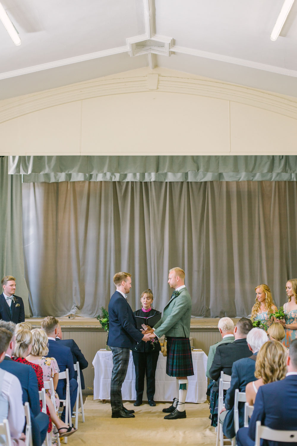 Elie Village Hall Wedding Photography