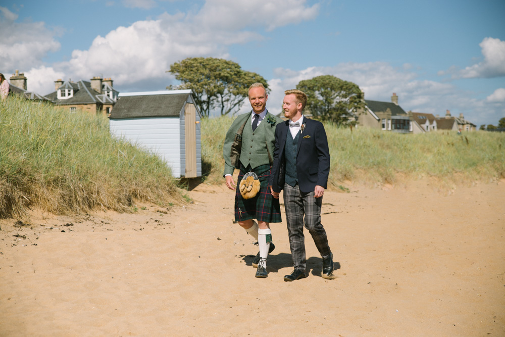 Scottish same sex wedding photography | St andrews and Fife Wedding Photographer | Cow Shed Crail Wedding
