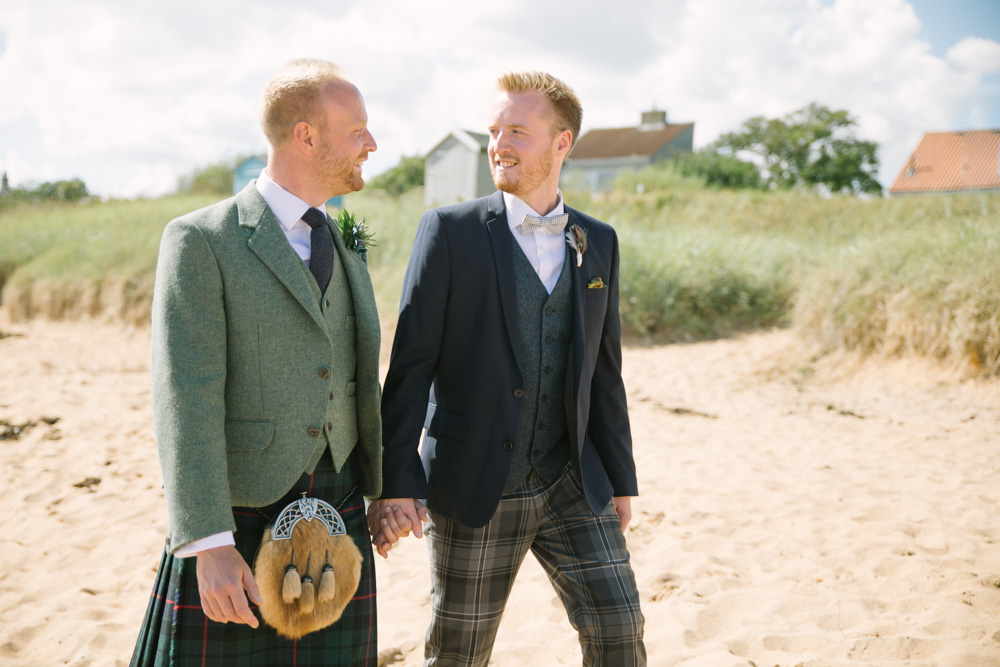 Cow Shed Crail Wedding Photography | Fife Wedding Photographer | Scottish Same Sex Wedding