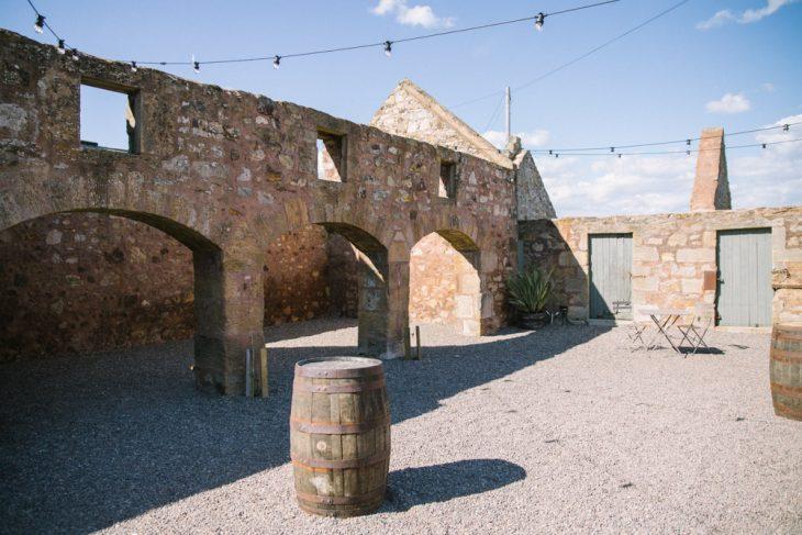 Cow Shed Crail Wedding Photography | Rustic barn venue Scotland | Alternative Wedding Photography