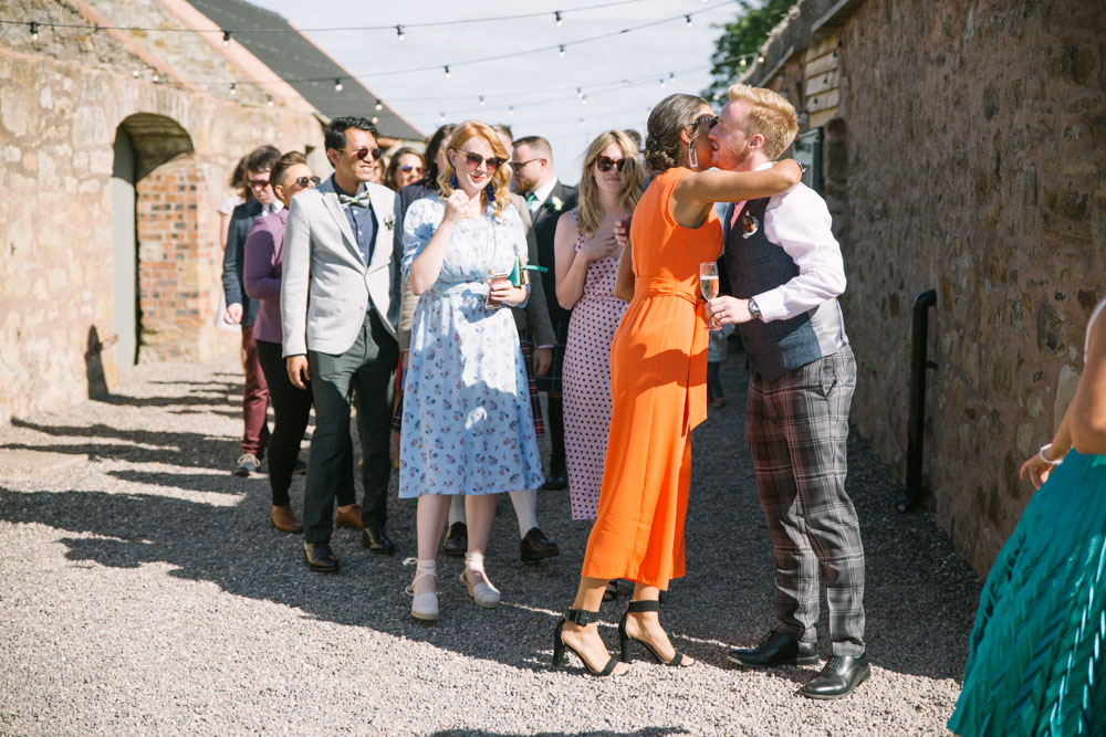 Mr and Mr | Scottish same sex wedding | Cow Shed Crail Wedding Photographer
