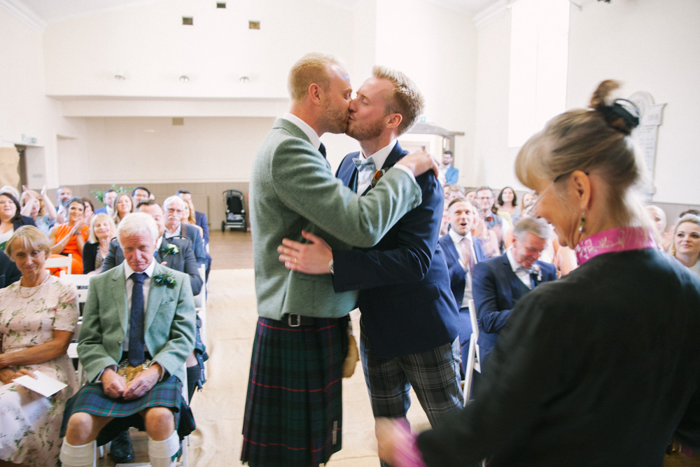 Scottish same sex wedding photography | St andrews and Fife Wedding Photographer