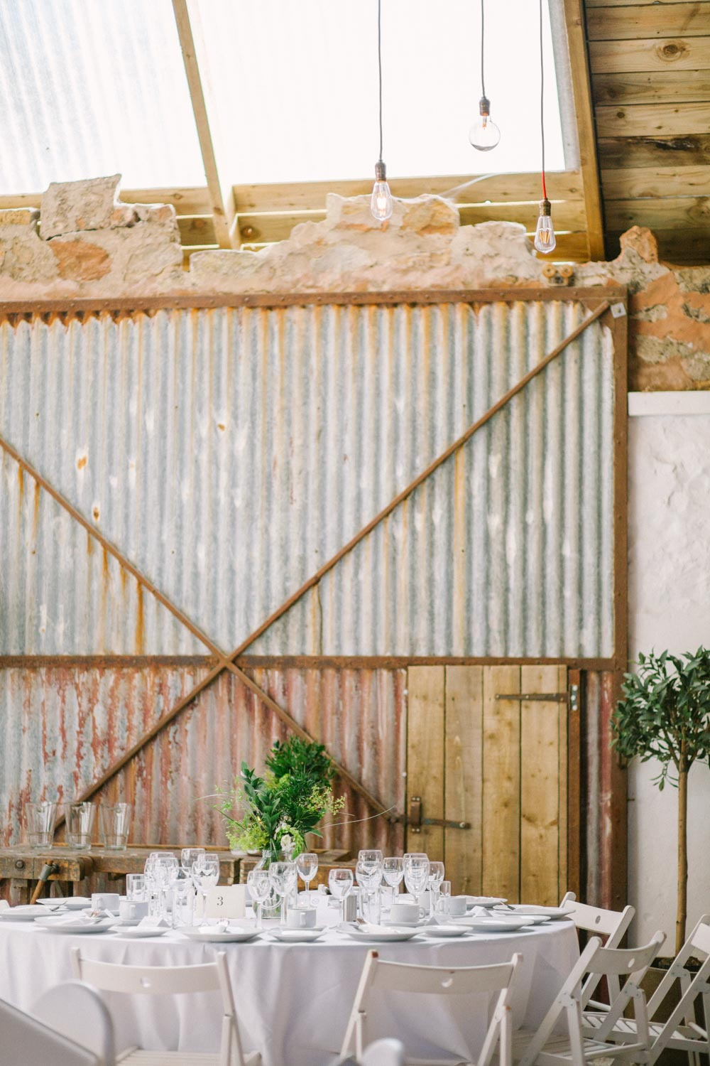 Cow Shed Crail Wedding Photography | Rustic barn venue Scotland | Alternative Wedding Photography