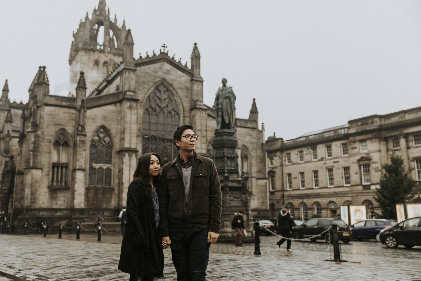 Edinburgh St Giles Cathedral Photoshoot