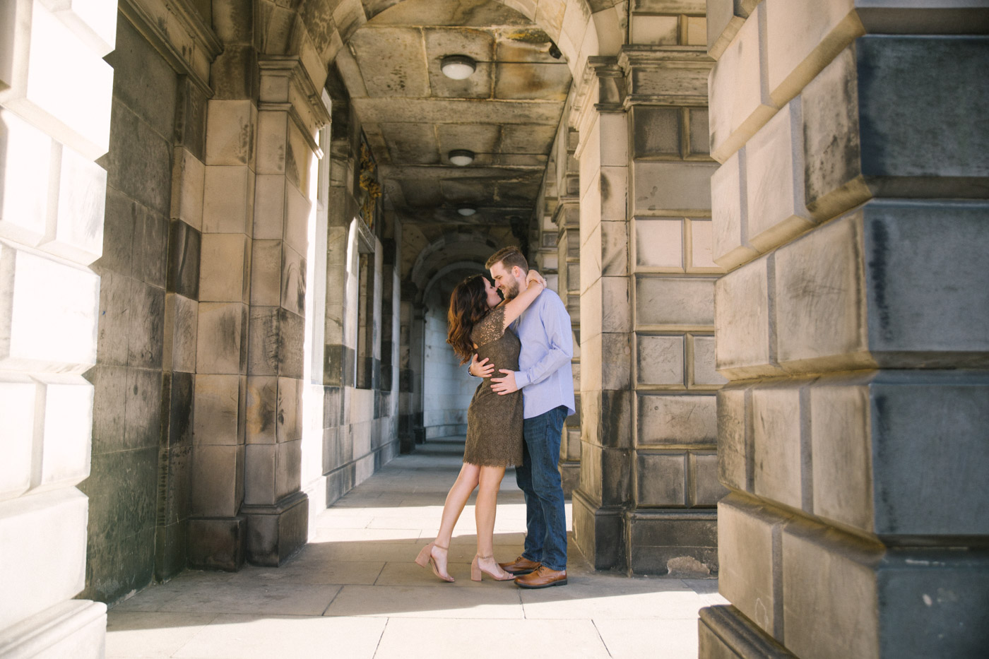 Edinburgh Elegant couple photoshoot