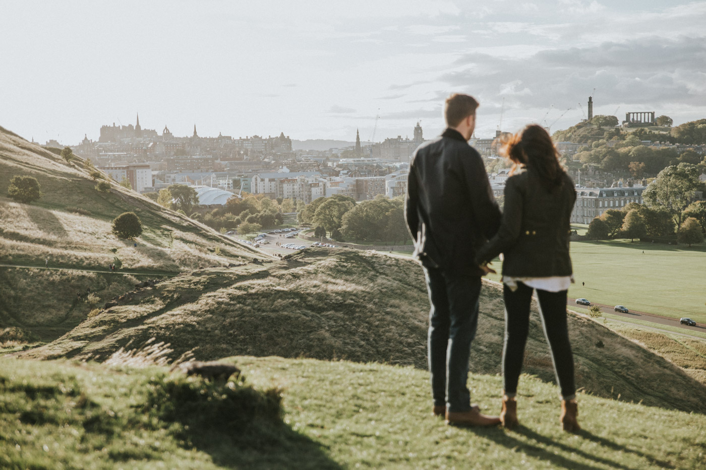 American's destination engagement in Edinburgh