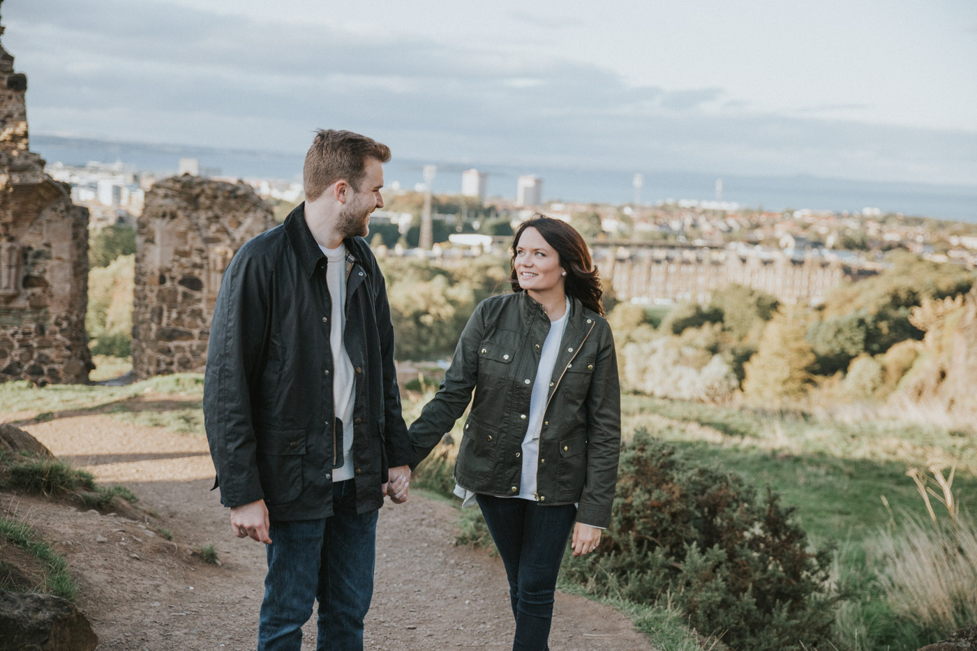Edinburgh Engagement on Arthur's Seat