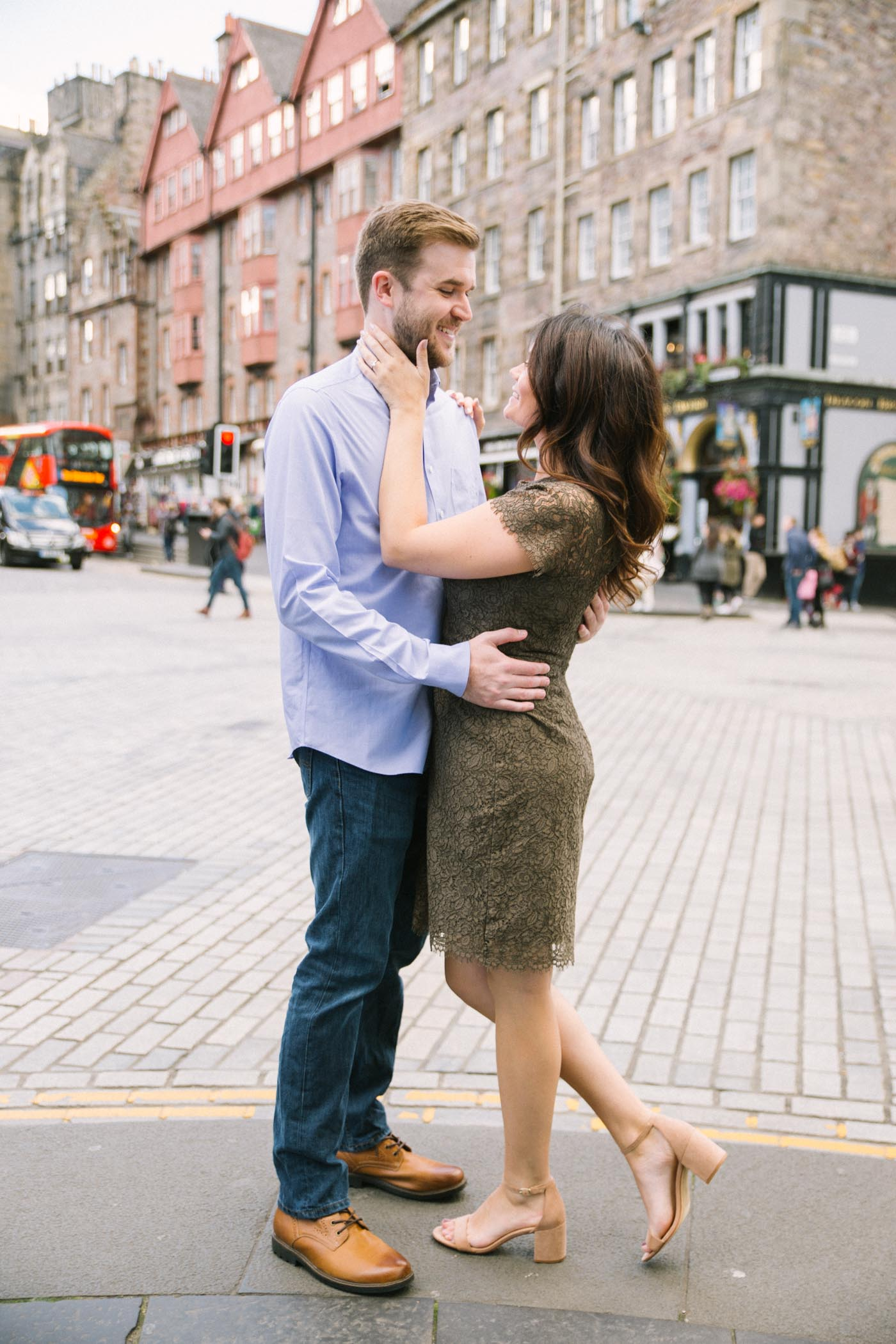 Edinburgh Engagement Photo Session