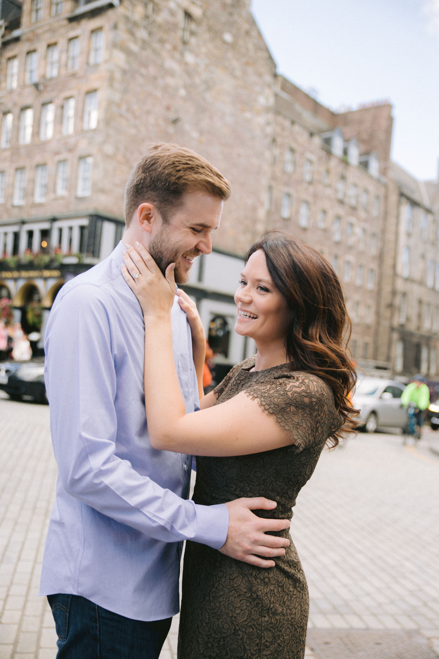Edinburgh Destination Engagement Photography