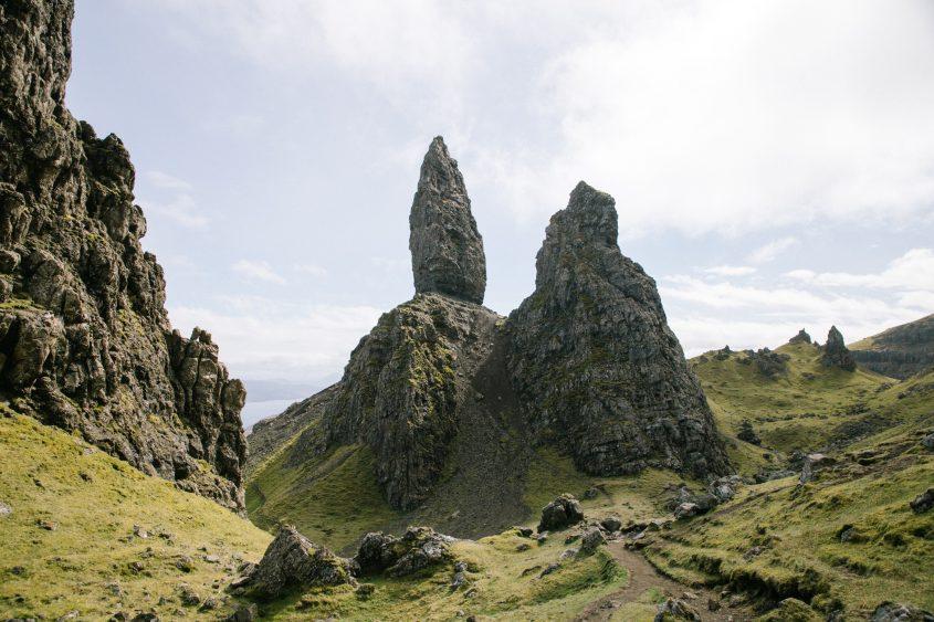 Isle of Skye Elopement Photography | Scotland alternative Wedding Photographer