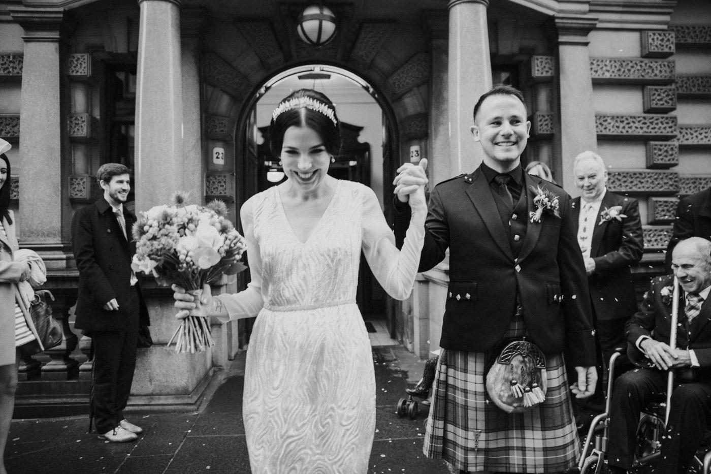 Alternative Glasgow City Chambers Wedding