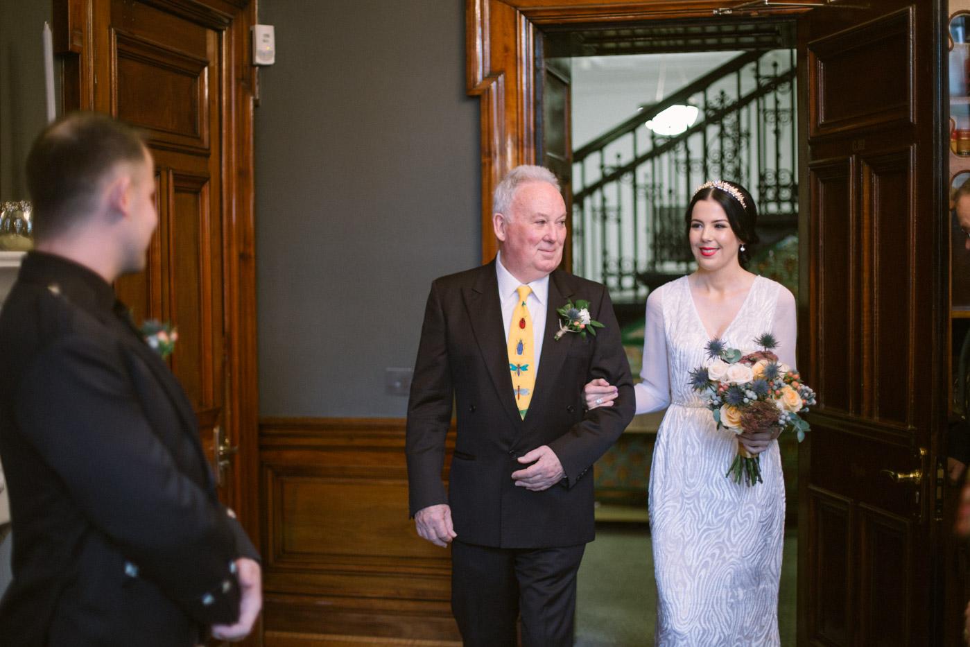 Glasgow City Chambers Wedding