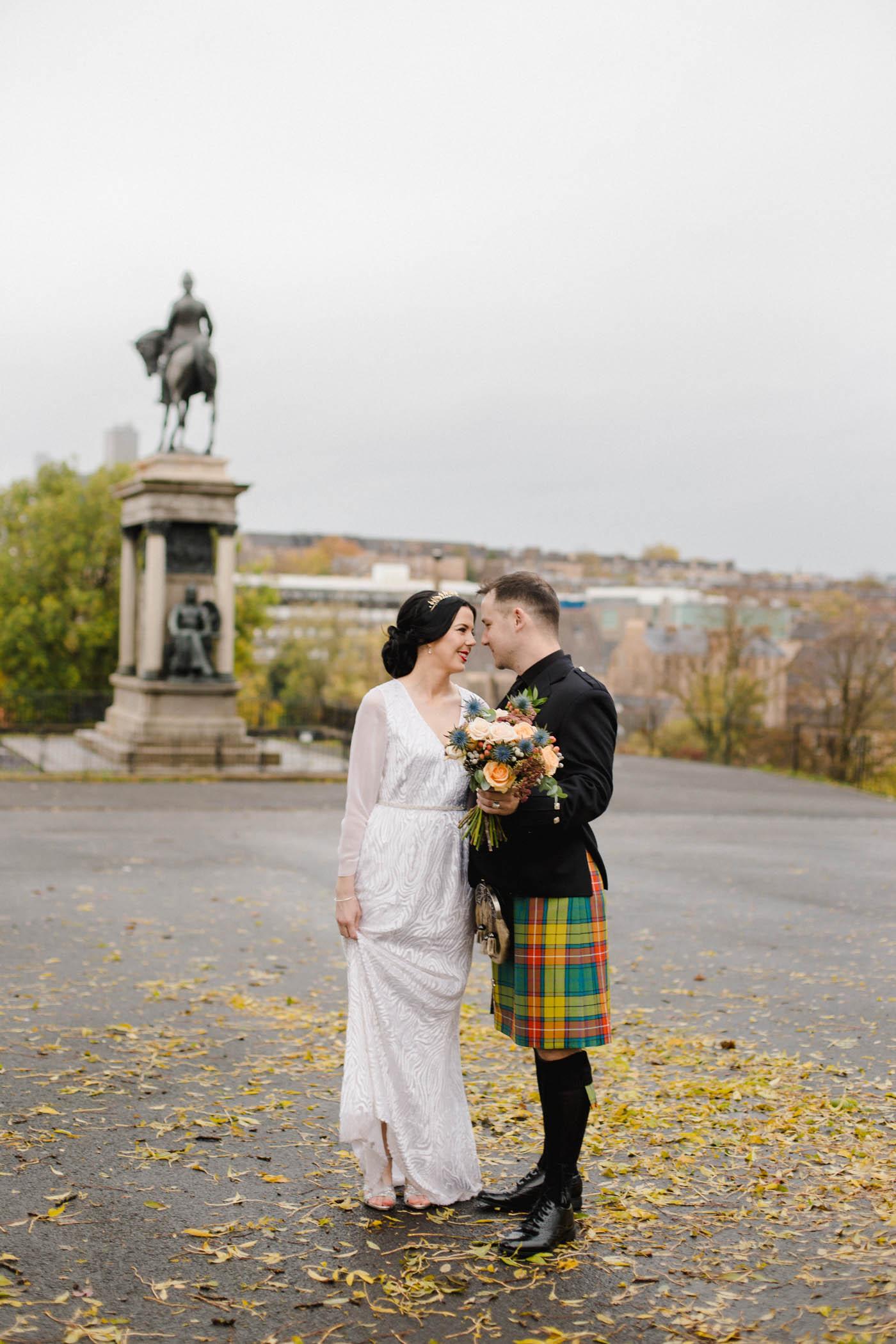 Glasgow Vintage Wedding Photography