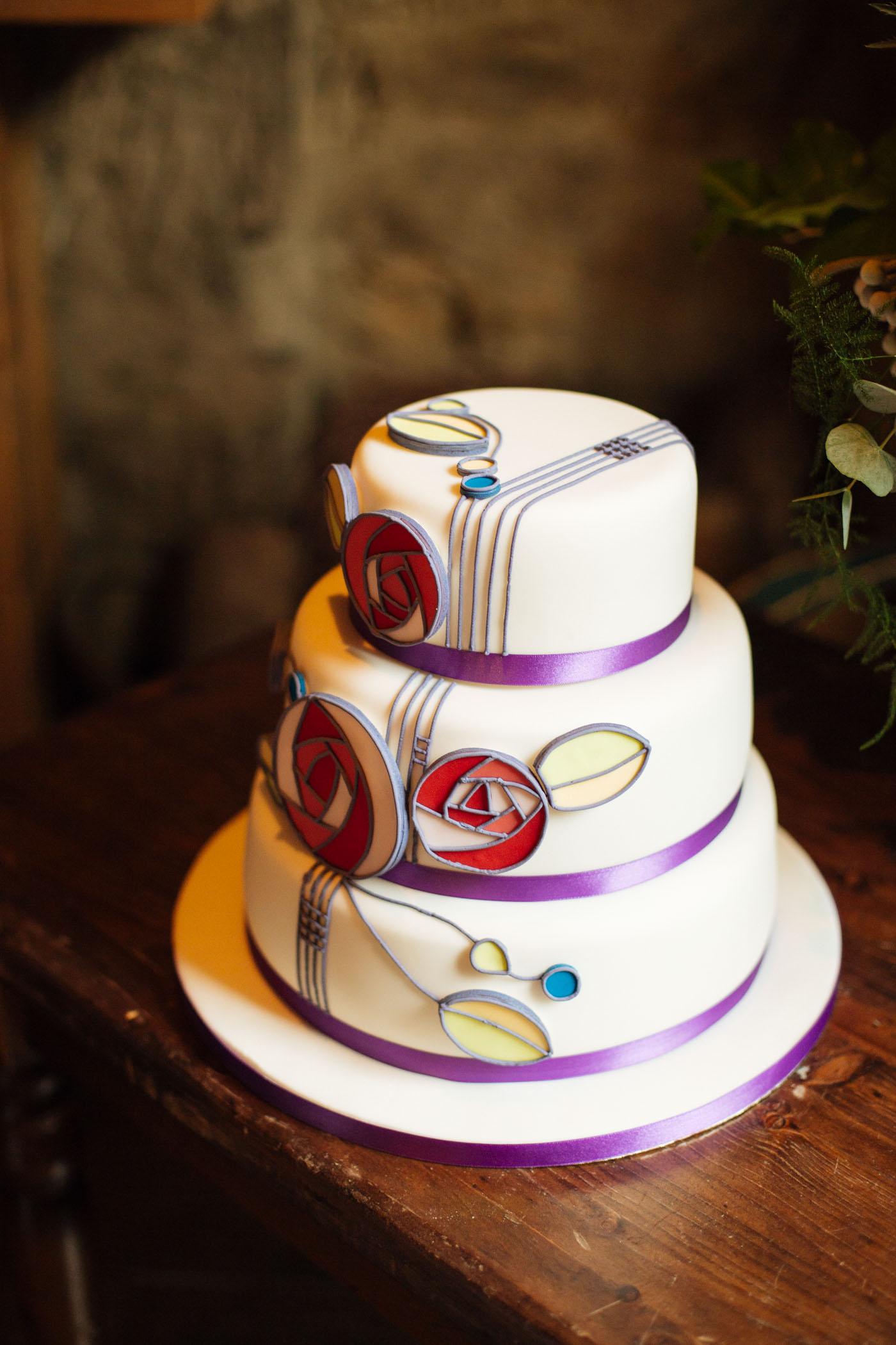 Art Deco | Art Nuveau Wedding Cake inspiration | Scottish Wedding Photography