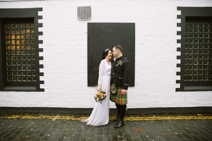 Glasgow City alternative wedding photography
