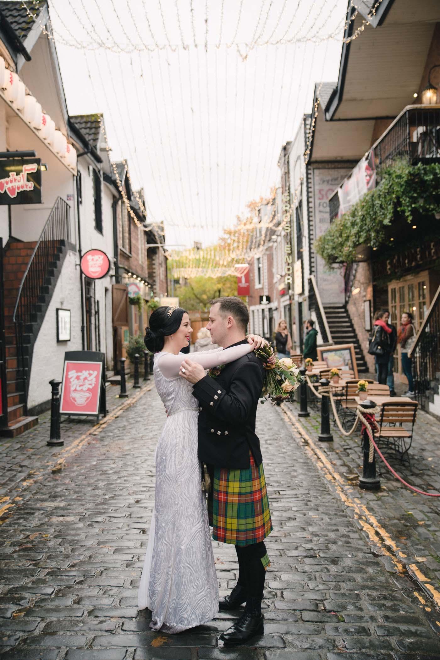 Glasgow West End Wedding Photography inspiration