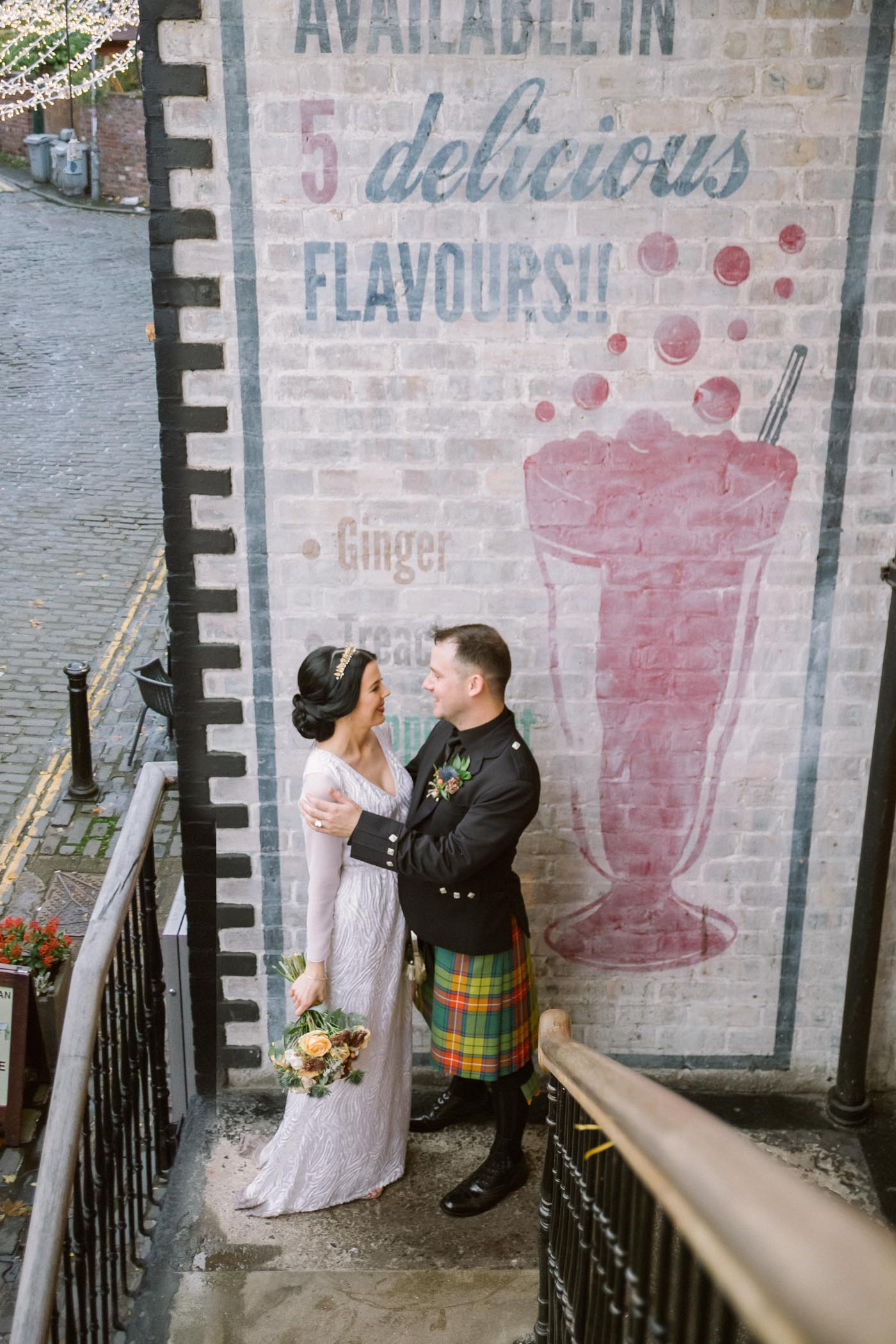 Glasgow West End Elopement Photography