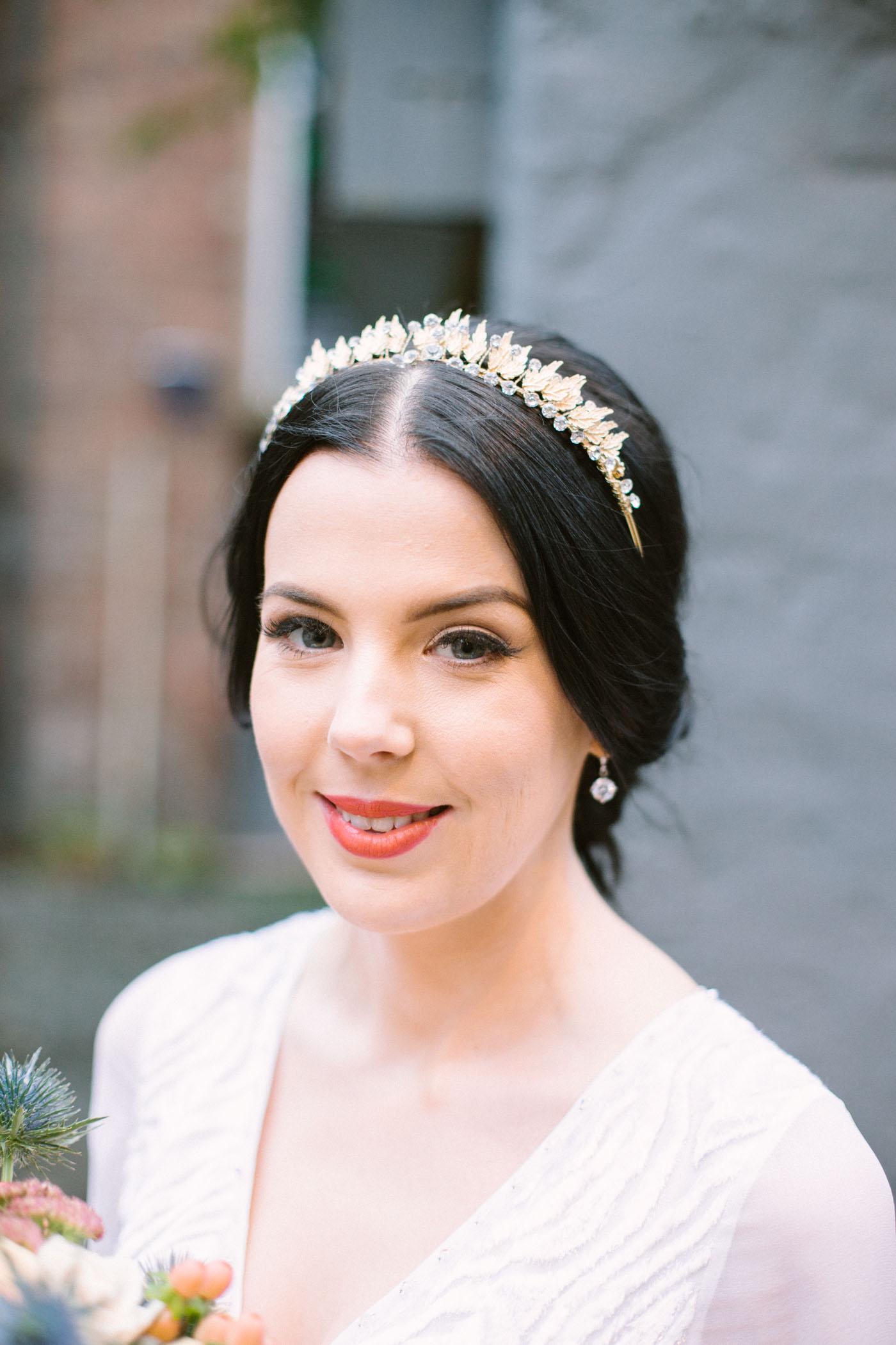 Vintage tiara bride inspiration